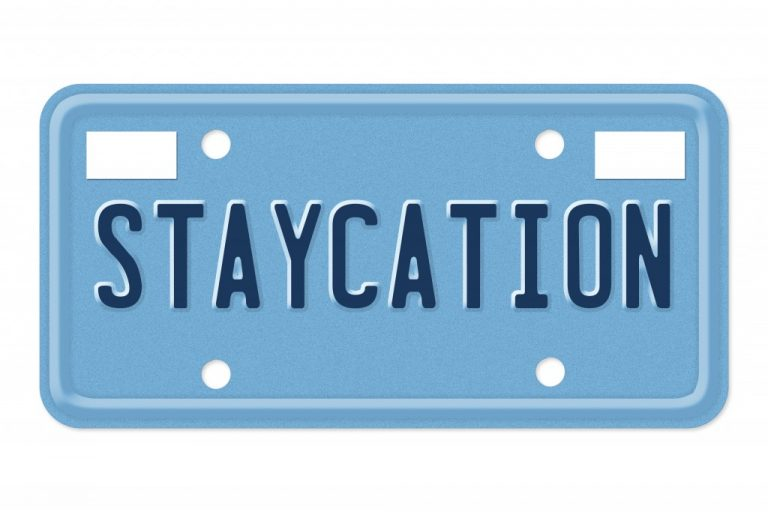 staycation plate
